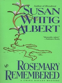 Cover Rosemary Remembered