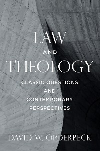 Cover Law and Theology