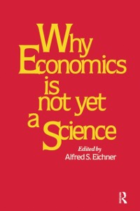 Cover Why Economics is Not Yet a Science