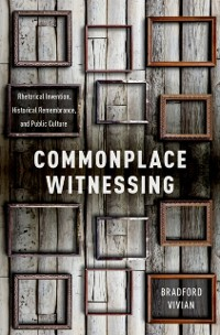 Cover Commonplace Witnessing