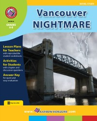 Cover Vancouver Nightmare (Novel Study) Gr. 6-8