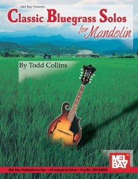 Cover Classic Bluegrass Solos for Mandolin