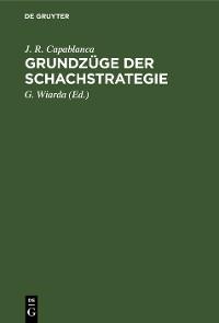 Cover Grundzüge der Schachstrategie