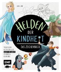 Cover Helden der Kindheit – Das Zeichenbuch