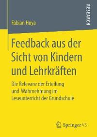 Cover Feedback aus der Sicht von Kindern und Lehrkräften