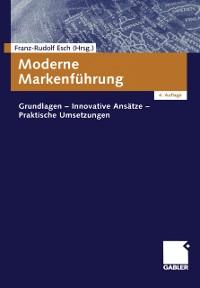 Cover Moderne Markenfuhrung