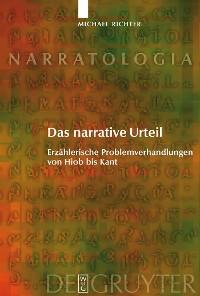 Cover Das narrative Urteil