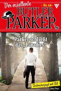 Cover Der exzellente Butler Parker 44 – Kriminalroman