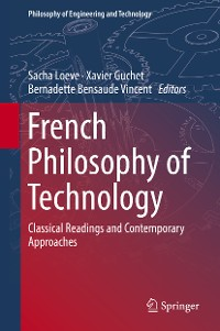Cover French Philosophy of Technology