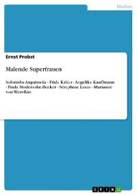 Cover Malende Superfrauen