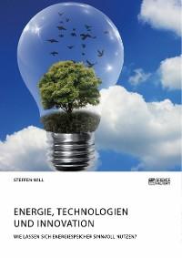 Cover Energie, Technologien und Innovation. Wie lassen sich Energiespeicher sinnvoll nutzen?