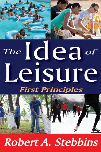 Cover The Idea of Leisure