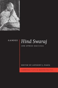 Cover Gandhi: 'Hind Swaraj' and Other Writings