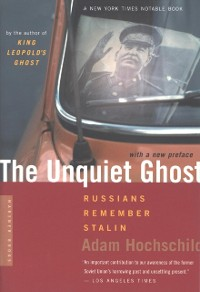 Cover Unquiet Ghost