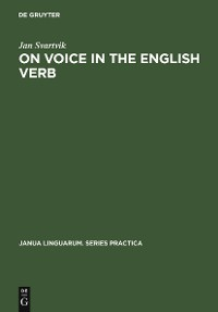 Cover On Voice in the English Verb