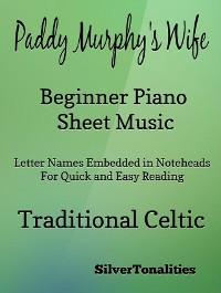 Cover Paddy Murphy's Wife Beginner Piano Sheet Music
