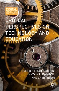 Cover Critical Perspectives on Technology and Education