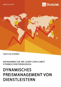 Cover Dynamisches Preismanagement von Dienstleistern. Maßnahmen zur Implementierung einer dynamischen Preisbildung