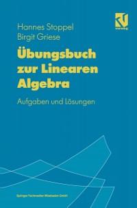 Cover Ubungsbuch zur linearen Algebra