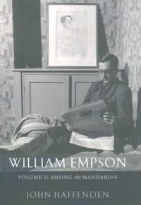 Cover William Empson, Volume I