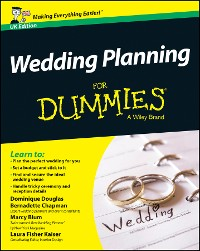 Cover Wedding Planning For Dummies, UK Edition