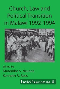 Cover Church, Law and Political Transition in Malawi 1992-1994