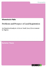 Cover Problems and Prospect of Land Registration