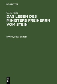 Cover 1823 bis 1831
