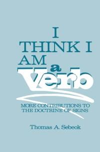 Cover I Think I Am a Verb