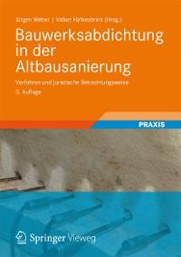 Cover Bauwerksabdichtung in der Altbausanierung