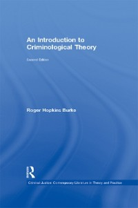 Cover Introduction to Criminological Theory