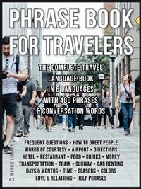 Cover Phrase Book for Travelers