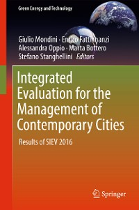 Cover Integrated Evaluation for the Management of Contemporary Cities