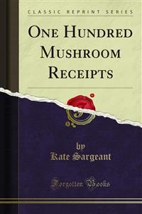 Cover One Hundred Mushroom Receipts