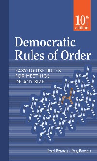 Cover Democratic Rules of Order