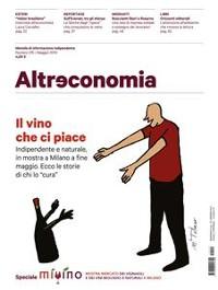 Cover Altreconomia 215 - Maggio 2019