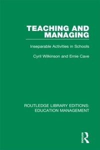 Cover Teaching and Managing