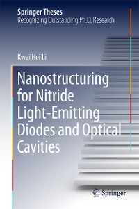 Cover Nanostructuring for Nitride Light-Emitting Diodes and Optical Cavities