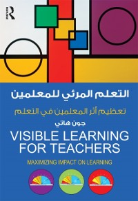 Cover Visible Learning for Teachers