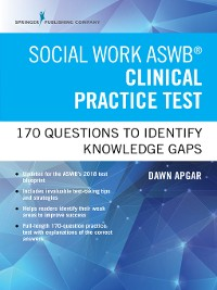 Cover Social Work ASWB Clinical Practice Test