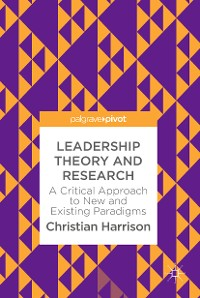 Cover Leadership Theory and Research