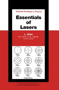 Cover Essentials of Lasers