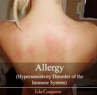 Cover Allergy (Hypersensitivity Disorder of the Immune System)
