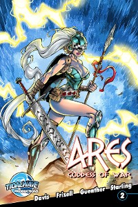 Cover Ares: Goddess of War #2