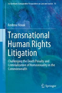 Cover Transnational Human Rights Litigation