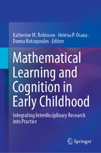 Cover Mathematical Learning and Cognition in Early Childhood