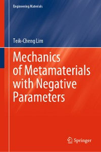 Cover Mechanics of Metamaterials with Negative Parameters