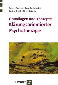 Cover Grundlagen und Konzepte Klärungsorientierter Psychotherapie