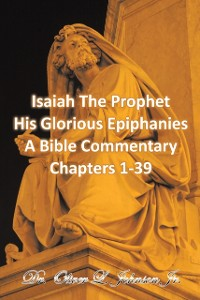 Cover Isaiah the Prophet His Glorious Epiphanies