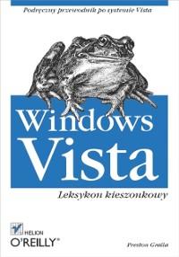 Cover Windows Vista. Leksykon kieszonkowy